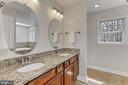 Updated master bath. - 10625 TIMBERIDGE RD, FAIRFAX STATION
