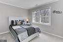 Bedroom 4. - 10625 TIMBERIDGE RD, FAIRFAX STATION