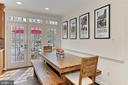 Sunny breakfast area! Eat-in Kitchen! - 10625 TIMBERIDGE RD, FAIRFAX STATION