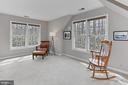 Master bedroom sitting room. Versatile space! - 10625 TIMBERIDGE RD, FAIRFAX STATION