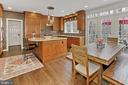 High end kitchen! - 10625 TIMBERIDGE RD, FAIRFAX STATION