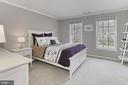 Bedroom 5. - 10625 TIMBERIDGE RD, FAIRFAX STATION