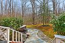 New flagstone patio with hot tub. - 10625 TIMBERIDGE RD, FAIRFAX STATION