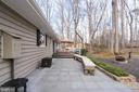 Outdoor living Patio with custom benches - 200 HAPPY CREEK RD, LOCUST GROVE