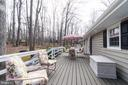 Deck from shed side - 200 HAPPY CREEK RD, LOCUST GROVE
