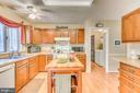 The heart of the home- the kitchen - 200 HAPPY CREEK RD, LOCUST GROVE
