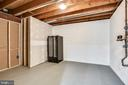 Storage in lower level - 8324 OLD DOMINION DR, MCLEAN