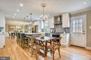 Eat in Kitchen - 8324 OLD DOMINION DR, MCLEAN