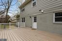 Deck - 8324 OLD DOMINION DR, MCLEAN
