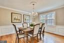 Dining Room - 8324 OLD DOMINION DR, MCLEAN