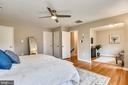 Master bedroom with sitting room - 8324 OLD DOMINION DR, MCLEAN