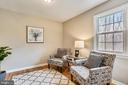 Sitting room in master bedroom - 8324 OLD DOMINION DR, MCLEAN