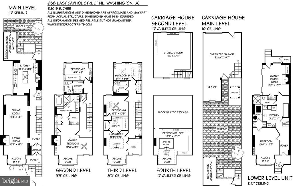 Floor Plan - 638 E CAPITOL ST NE, WASHINGTON