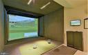 Golf simulator - 9480 VIRGINIA CENTER BLVD #318, VIENNA