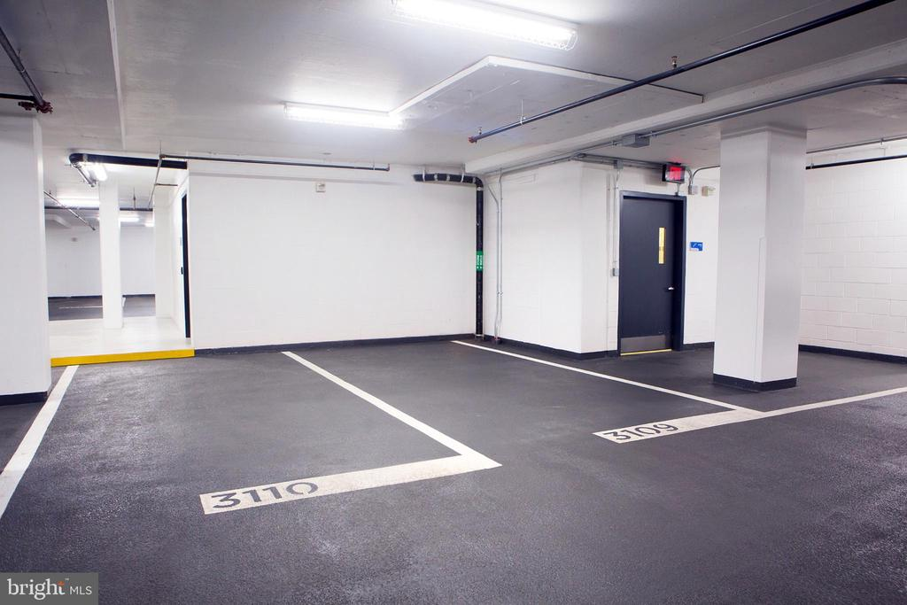 Two Garage Parking Spaces - 925 H ST NW #1103, WASHINGTON