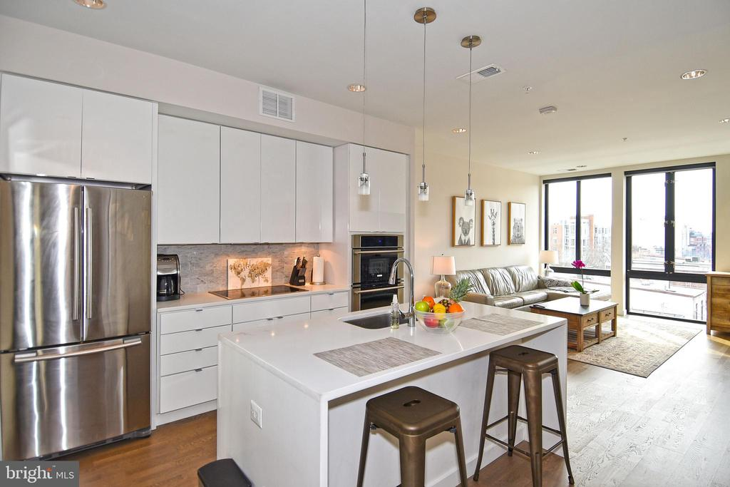 Incredible Open Concept Kitchen - 1405 W ST NW #402, WASHINGTON