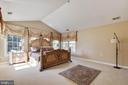 Luxurious master suite - 9018 LUPINE DEN DR, VIENNA