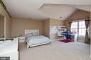 Another gigantic bedroom over the garage - 9018 LUPINE DEN DR, VIENNA