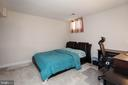 5th bedroom on lower level - 9018 LUPINE DEN DR, VIENNA