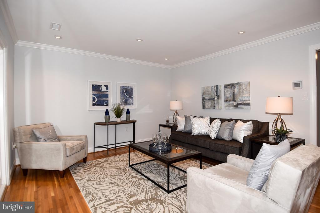 Living Room - 602 H ST SW, WASHINGTON