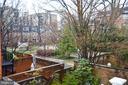 Deck View of Courtyard - 602 H ST SW, WASHINGTON