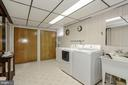 Laundry Room - 8900 GLENBROOK RD, FAIRFAX