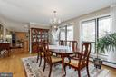Dining Room - 8900 GLENBROOK RD, FAIRFAX
