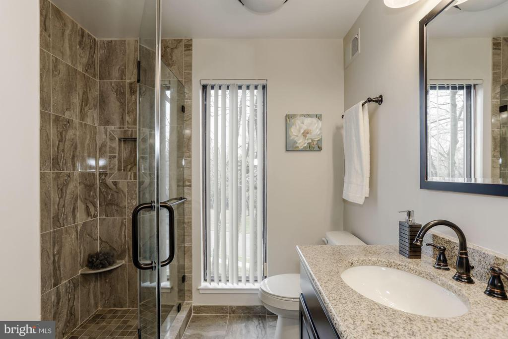 Master Bathroom enclosed shower - 3324 MANTUA DR, FAIRFAX
