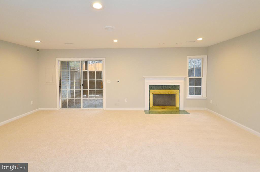 Wood Burning Fireplace - 20946 SANDSTONE SQ, STERLING