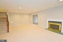 Walkout Level Rec Room - 20946 SANDSTONE SQ, STERLING