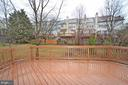 Large Deck Backing to Common Space - 20946 SANDSTONE SQ, STERLING