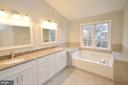 Brand New Luxury Master Bathroom - 20946 SANDSTONE SQ, STERLING