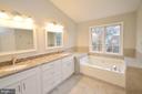 Brand New Luxury Master Bathroom - 20946 SANDSTONE SQ, STERLING