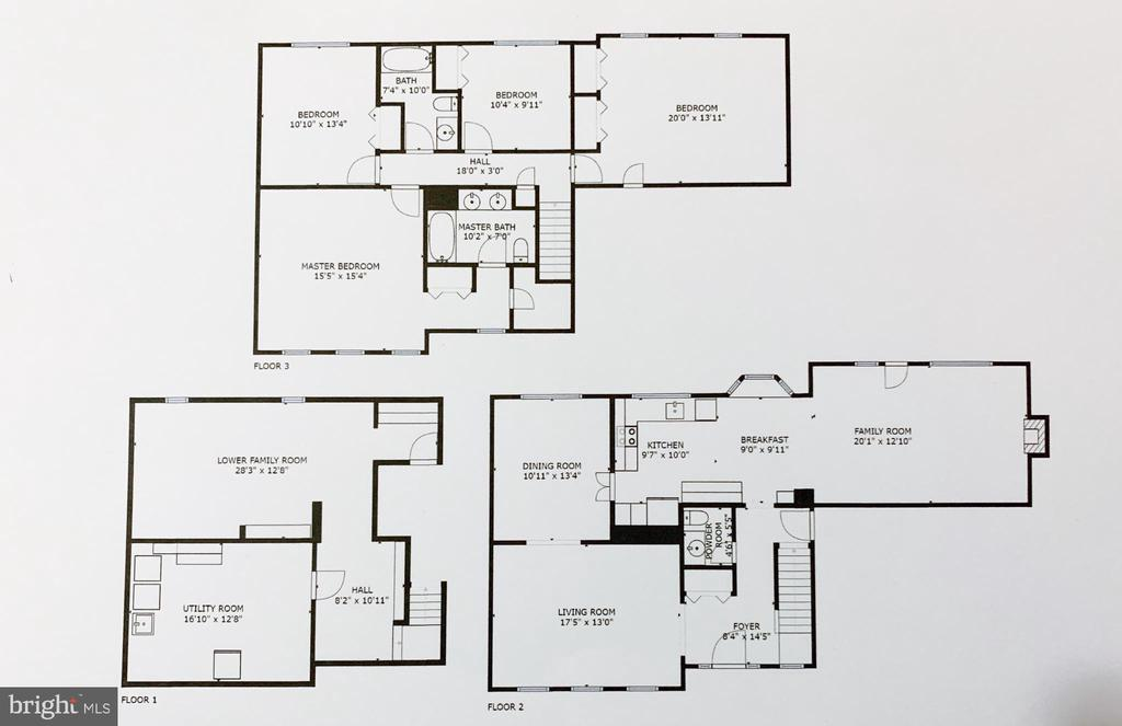 Floor Plan - 13366 POINT RIDER LN, HERNDON