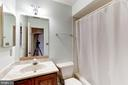 Hall Bath - 10279 GREYSTONE RD, MANASSAS