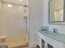 Porcelanosa Tile, LED touch mirror - 211 ROCKWELL TER, FREDERICK