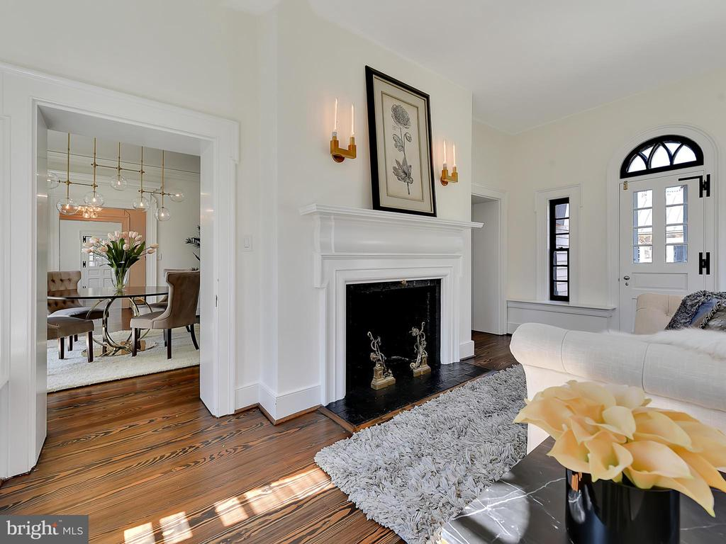 Restored floors, doors and black painted windows - 211 ROCKWELL TER, FREDERICK