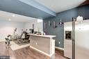 Finished Basement w/ Wet Bar & Extra Refrigerator - 43895 CAMELLIA ST, ASHBURN
