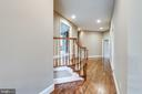 Upper hall - 20496 TAPPAHANNOCK PL, STERLING