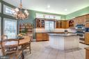 Gourmet kitchen - 20496 TAPPAHANNOCK PL, STERLING
