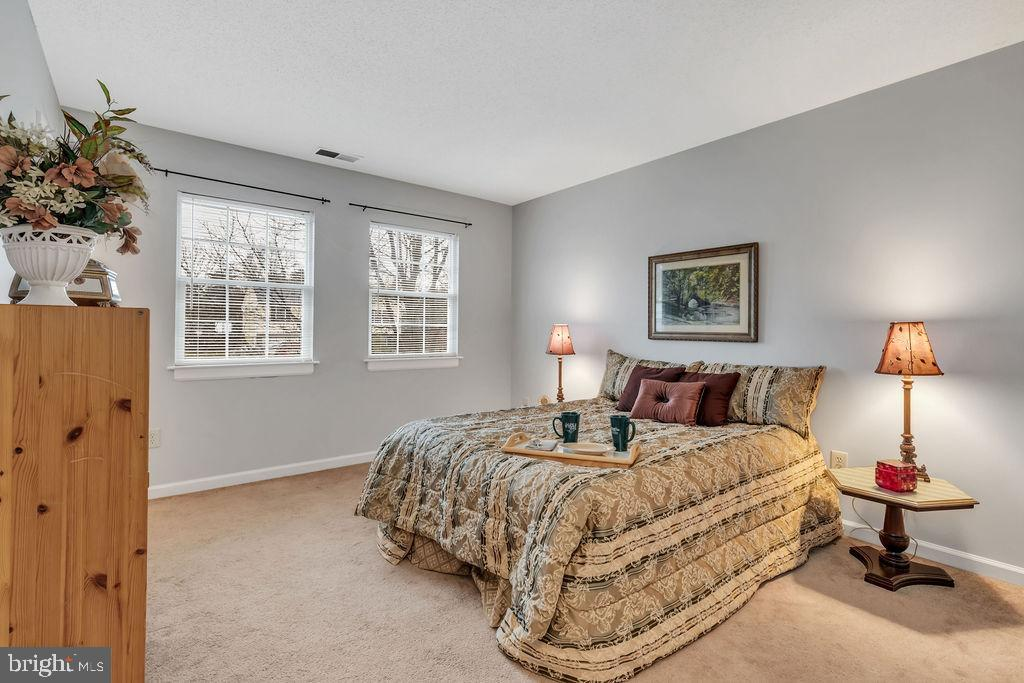 Lovely master bedroom - 129 HILL VALLEY DR, WINCHESTER