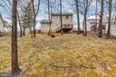 Over a quarter acre fenced yard - 129 HILL VALLEY DR, WINCHESTER