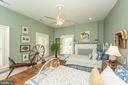 Upper Level Bedroom with Welcoming Morning Sun. - 2010 FALL HILL AVE, FREDERICKSBURG