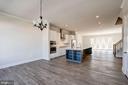 Soho Dining Room & Kitchen View - 42518 MILDRED LANDING SQ, ASHBURN