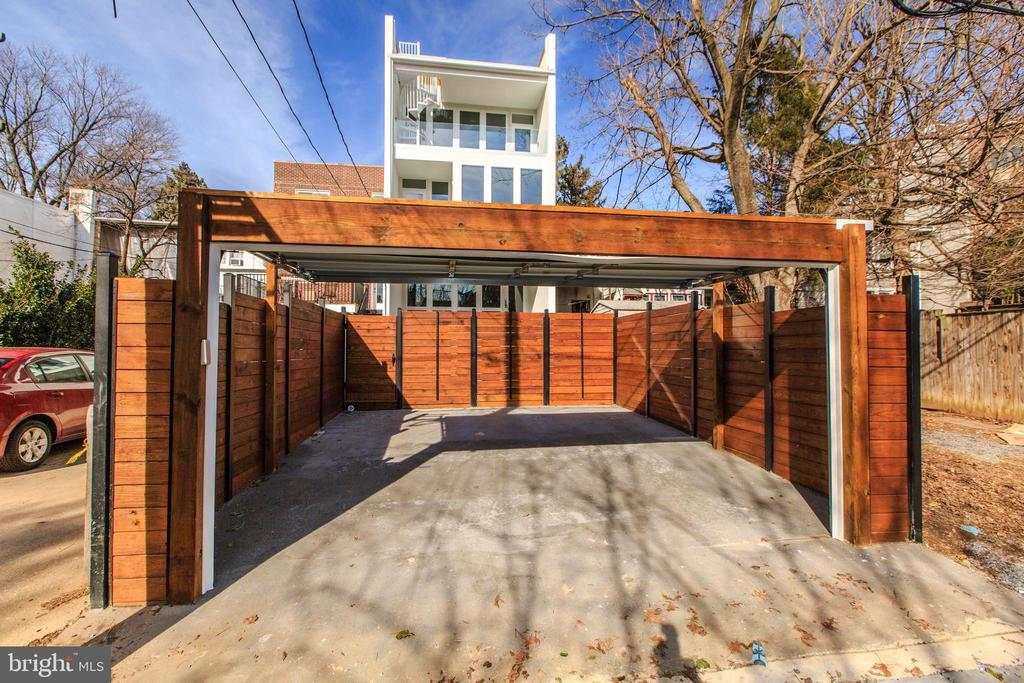 TWO GATED PARKING SPACES - 3722 R ST NW, WASHINGTON