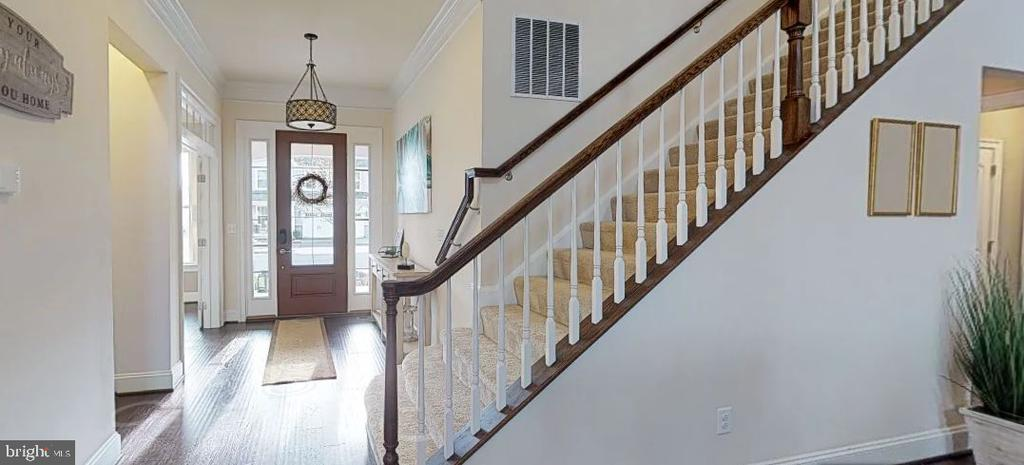 Entry to the open floorplan - 25532 EMERSON OAKS DR, ALDIE