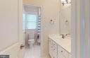upstairs bathroom dual entrance - 25532 EMERSON OAKS DR, ALDIE