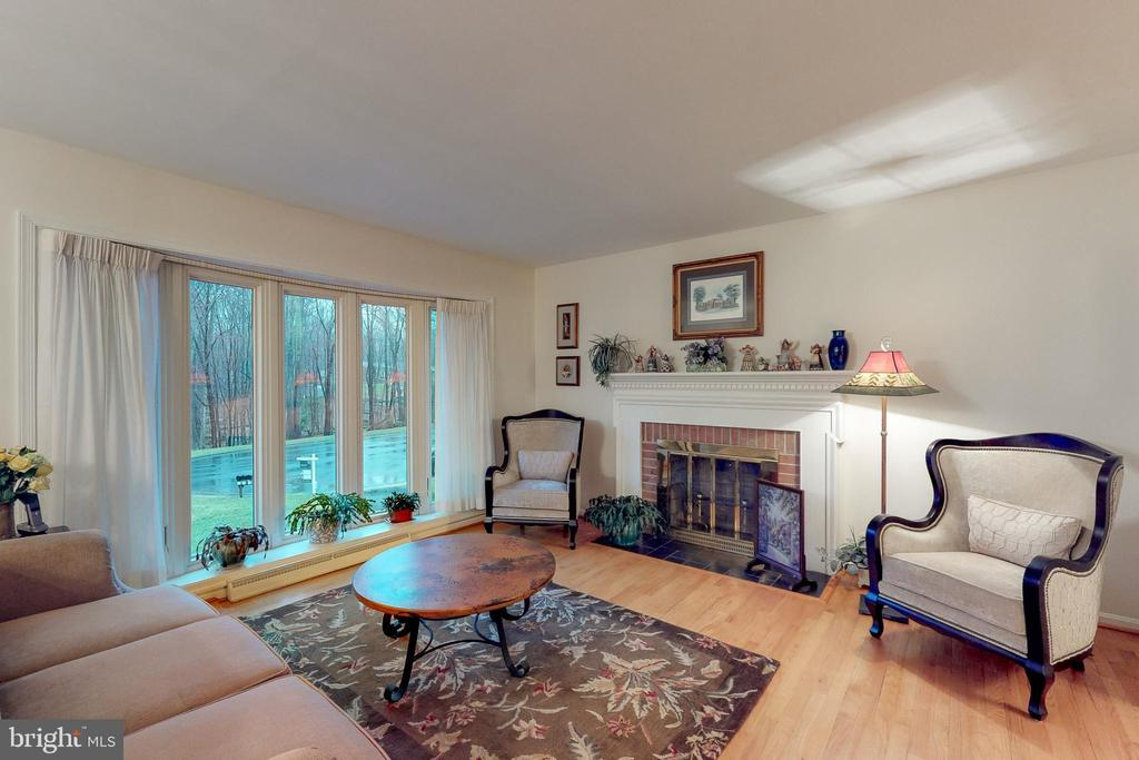 Living room - 12050 HICKORY HILLS CT, OAKTON