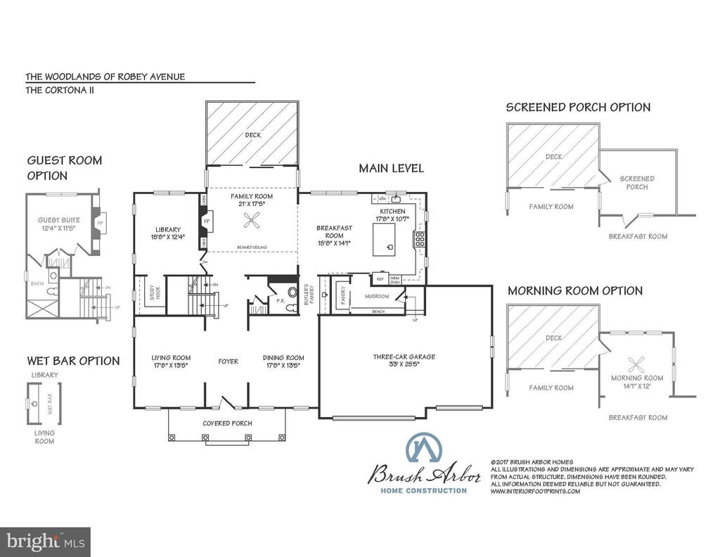 Main Level Floor Plan - 8232 ROBEY AVE, ANNANDALE