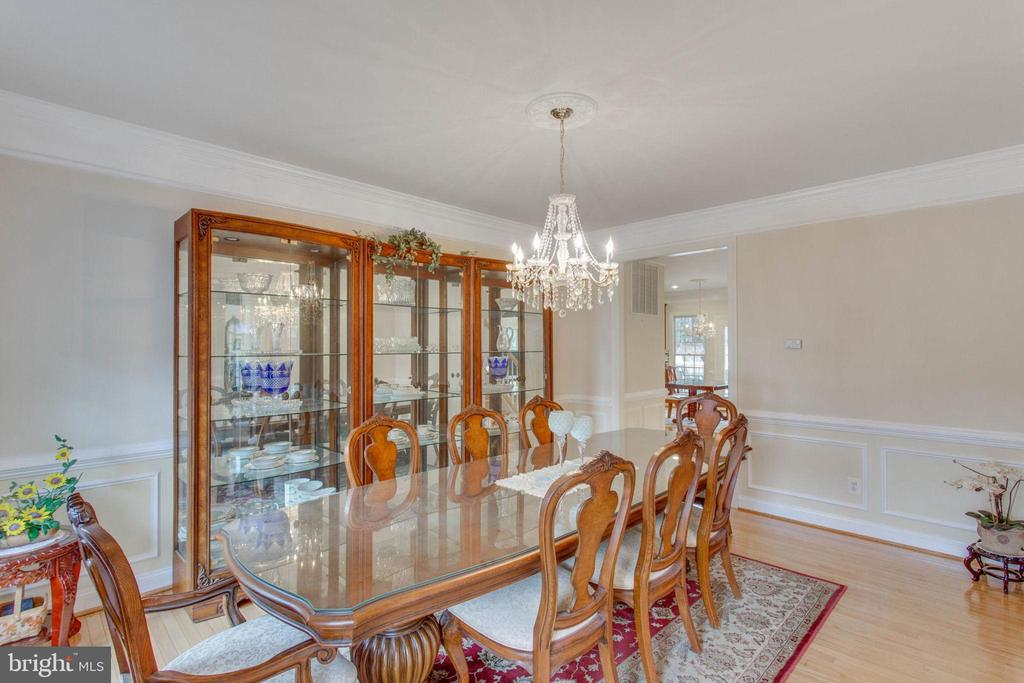 Dining Room - 11607 FOREST HILL CT, FAIRFAX